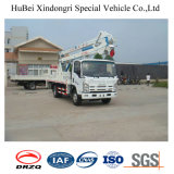 plate-forme montée par camion de travail aérien de 18m Isuzu