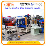 Bloco automático cheio do cimento que dá forma à máquina de fatura de tijolo com certificado do Ce