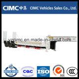 最もよい品質Cimc 3つの車軸低いベッドの半トレーラー