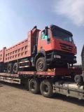 Caminhão de descarga usado de 6X4 Saic Iveco Hongyan Kingkan do Tipper