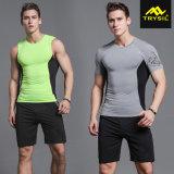 Form-feste Oberseiten der Männer u. Legging Hosen-Sport-Klage