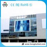 Display de LED de deslocamento de publicidade exterior P10