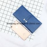 Het Echte Leer van het merk Dame Multi-Function Zipper Clutch Accessory Portefeuille (bdx-171004)
