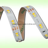 12V-24V 60LEDs/M SMD2835 6000kは白い「S」の形LEDのリボンを冷却する
