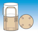 Bolso enorme grande tejido PP del envase con la parte inferior circular