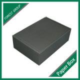 은 로고 (FP8039130)를 가진 까만 매트 물결 모양 수송용 포장 상자