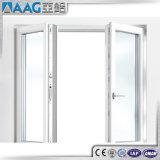 Het aangepaste Poeder Met een laag bedekte Openslaand raam van het Aluminium met Dubbele Verglazing