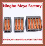 Gelijkaardige Wago van uitstekende kwaliteit 222 415 Elektro Mini 5 Schakelaars van de Draad van de Speld