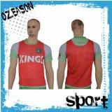 卸し売り昇華安い価格のサッカーのトレーニングのベストをカスタム設計しなさい