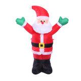 Riesiges Gewebe aufblasbarer Weihnachtsmann für Familien-Garten