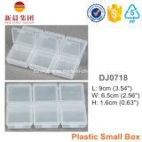 Rectángulo plástico de los pequeños accesorios