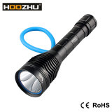 Hoozhu D12 크리 사람 LED 잠수 빛 최대 1000lumens는 잠수 램프를 위한 100 미터를 방수 처리한다