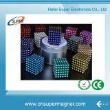 216 bolas magnéticas neas coloridas del dólar 3m m del PCS 5m m