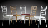 Manera que empila la silla de bambú de la boda de los muebles del hotel para la venta