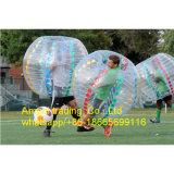 Prezzo umano gonfiabile all'ingrosso della sfera di gomma di calcio della bolla della sfera