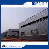 Entrepôt galvanisé par Q345 normal de structure métallique de la CE pour ignifuge et imperméable à l'eau