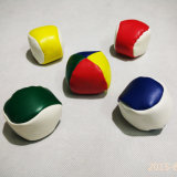 Promotion 5cm 2 Panels Environmental PVC Leather Hacky Sack