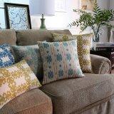 Cubiertas de lino de la almohadilla del sofá de la impresión los 30X50cm del algodón para la separación de la base