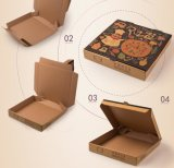 習慣すべてのサイズのペーパーチョコレートサラダケーキのクッキーピザボックス