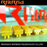 Acquaforte di alluminio di frequenza ultraelevata impedice la modifica del compressore RFID/il contrassegno/autoadesivo astuti