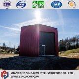 Magazzino ad alta resistenza/costruzione prefabbricata della struttura d'acciaio liberata di/Wokshop