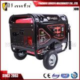 5kw 5kVA luftgekühlter geöffneter Rahmen-Typ Benzin-Treibstoff-Generator