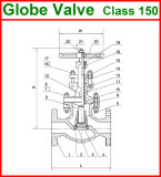 900lb API Globle Klep (GAJ41W/GAJ41Y)