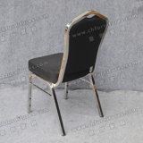 أسود بناء مطعم كرسي تثبيت [ستينلسّ ستيل] مأدبة كرسي تثبيت ([يك-زل144])