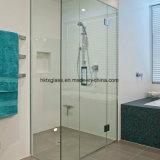蝶番を付けられたガラス浴室のPannelsのシャワー室