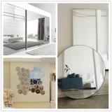 espejo del rectángulo de la seguridad de 3m m 4m m 5m m 6m m para las decoraciones caseras modernas de la sala de estar