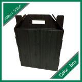 Коробка вина черной дома Matt 3 пакетов форменный