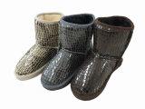 Ботинки снежка зимы Sequins славные теплые для девушок Wonmen