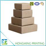 Contenitore ondulato poco costoso di scatola del Brown di formati differenti