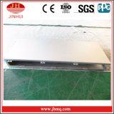 El panel de pared de aluminio de cortina del material de construcción de la fachada del canal de H