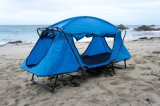 Het openlucht Frame die Van uitstekende kwaliteit van het Metaal Vouwend het Kamperen van het Bed Tent met Voeten vissen