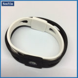 Cool Boys Popularly Debossed Silicone Wristband China Manufacture