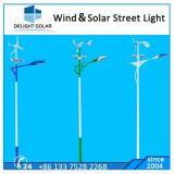 100W 200W Wind-Turbine-Generator-Wind-hybrides Straßenlaternesolar