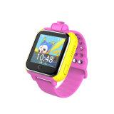 ビデオ呼出しを用いる子供のための最も新しい3Gネットワークスマートな腕時計