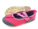 Los últimos zapatos del calzado de bebé Zapatos de lona de inyección para bebé (FFBB1228-02)