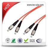 Отрезок провода PVC оптически с разъемами оптического волокна APC PC St Sc FC LC Mu