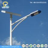 5mの太陽電池パネルが付いている太陽街灯