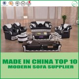 Chesterfield-Art-Büro-echtes Leder-Sofa-Set