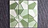 Mattonelle di mosaico di vetro poco costose del mosaico del raggruppamento di acqua del mosaico della fabbrica