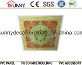 Vente en gros tuiles de plafond de PVC de panneaux de plafond de PVC de 595 * de 595mm en Chine