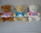 Urso da peluche do luxuoso para miúdos com material macio