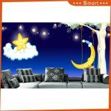 ホーム装飾のための夜星の空の油絵