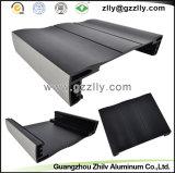 건축재료 알루미늄 단면도 또는 알루미늄 밀어남 열 싱크 또는 방열기