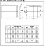 3V 32m-Bitserial integrierte Schaltung des Flash-Speicher-IS W25q32bvzpip