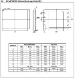 интегрированное флэш-память IC W25q32bvzpip 3V 32m-Bitserial - цепь