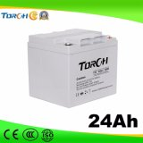 Батареи геля свинцовокислотной батареи 12V 24ah VRLA полной производственной мощности